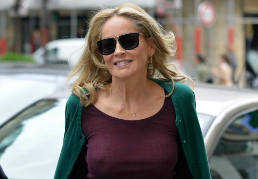 Sharon Stone décomplexé