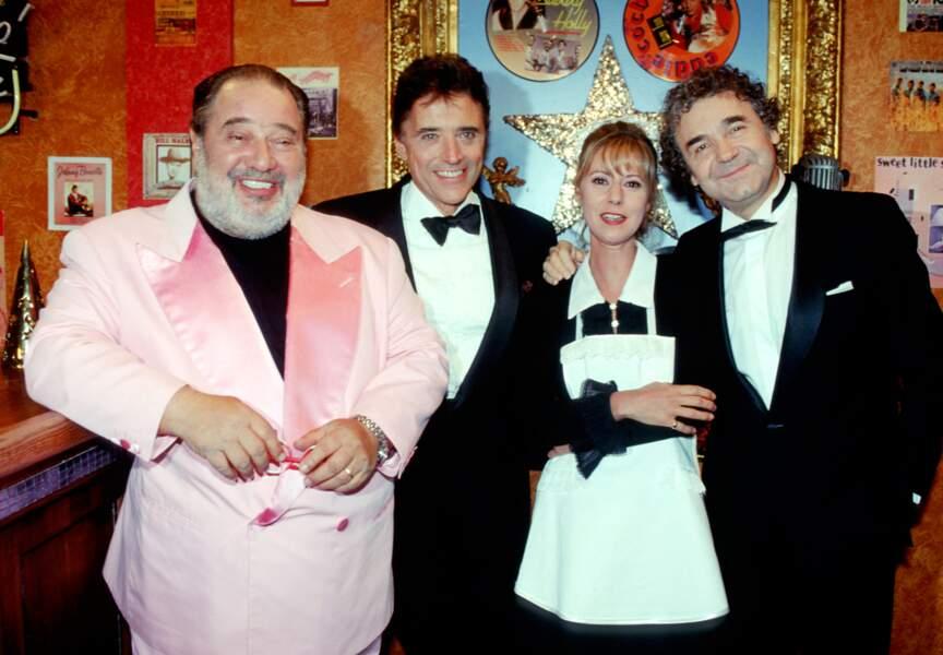 Entre amis avec Carlos, Sacha Distel et Dorothée