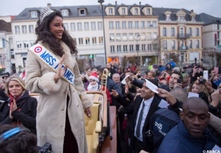 Miss France s'adresse à ses compatriotes