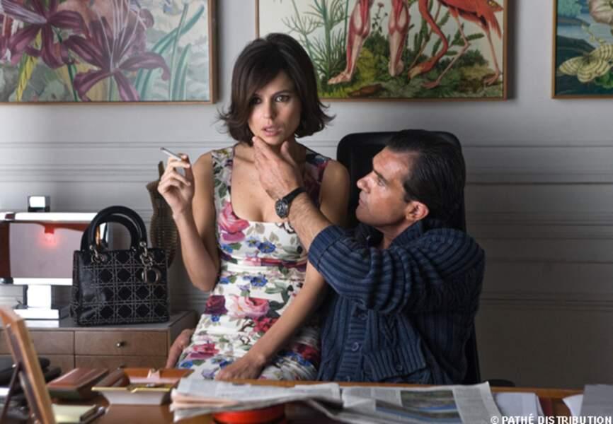 Antonio Banderas et Elena Anaya dans La piel que habito, en 2011