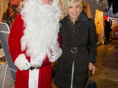 Les stars passent les fêtes avec le père Noël