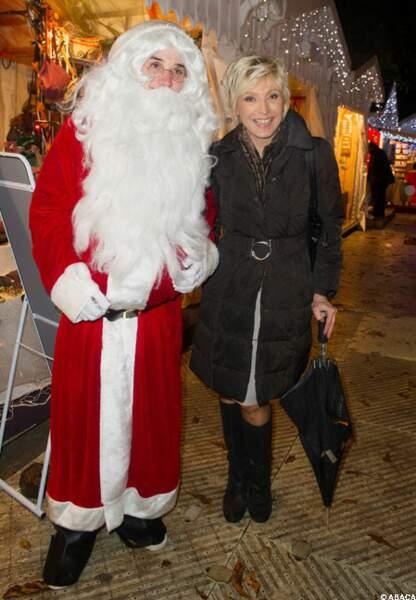 Evelyne Dhéliat parle de manteau neigeux avec lui