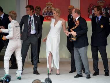 Albert et Charlène au Grand Prix de Monaco