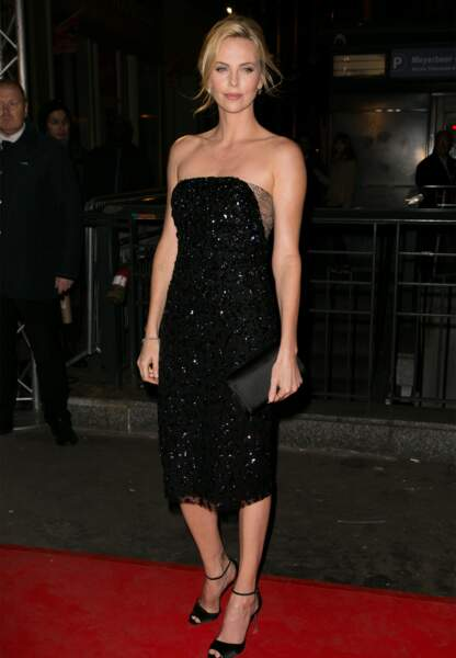 Charlize Theron en dior haute couture