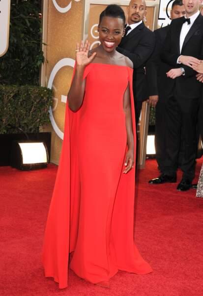 Lupita Nyong'o en Ralph Lauren Collection