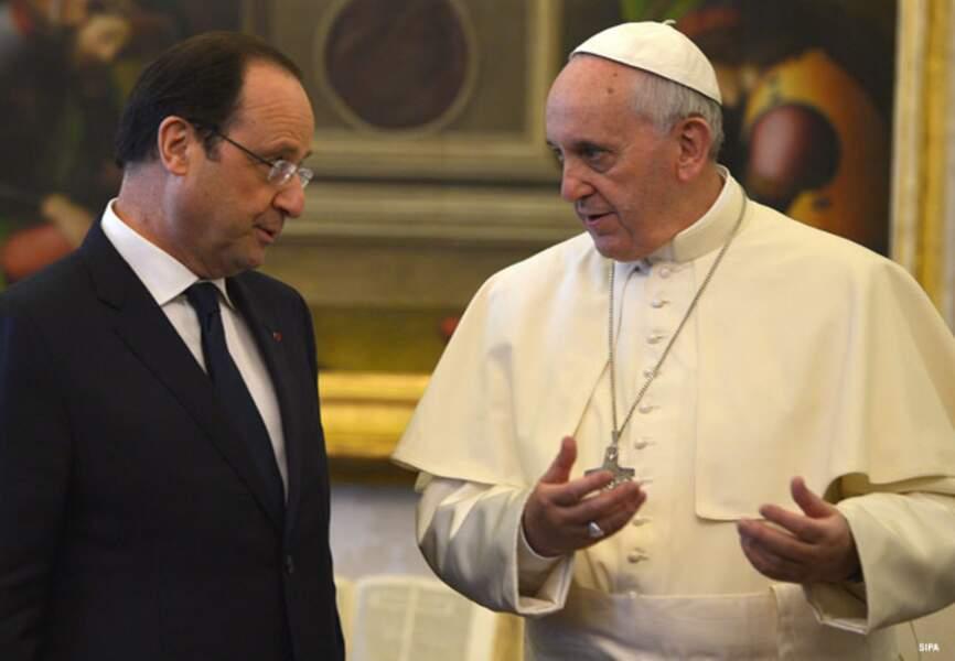 Ambiance sérieuse entre les deux François