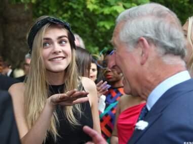 Prince Charles et Cara Delevingne