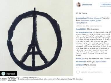 Paris Attacks - L'hommage des stars sur les réseaux sociaux