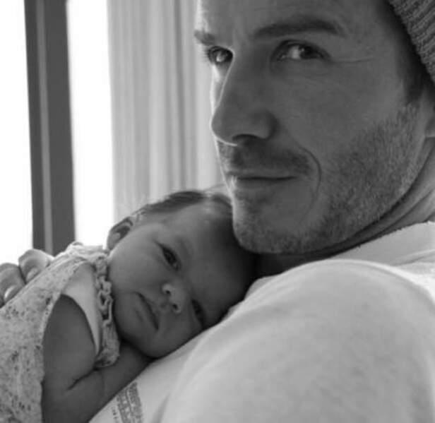 Quatre ans après David Beckham n'hésite pas à élire ce tendre cliché comme étant son préféré