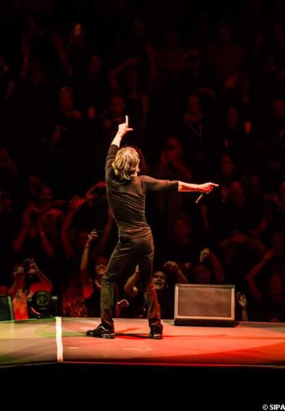 Mick Jagger donne tout à son public