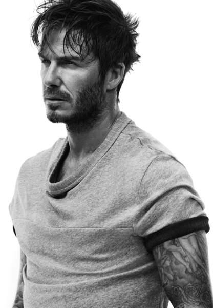 Le t-shirt David Beckham pour H&M à shopper