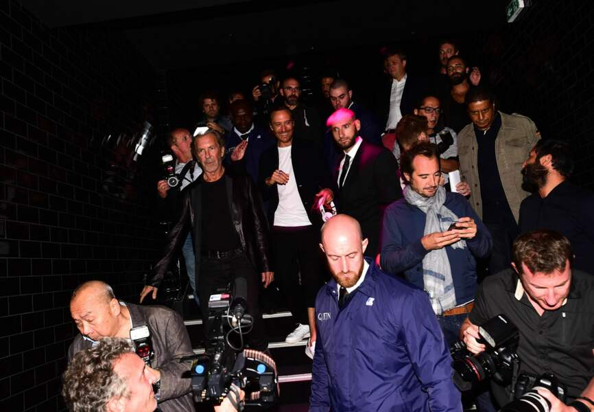 David Guetta à son arrivée au Queen