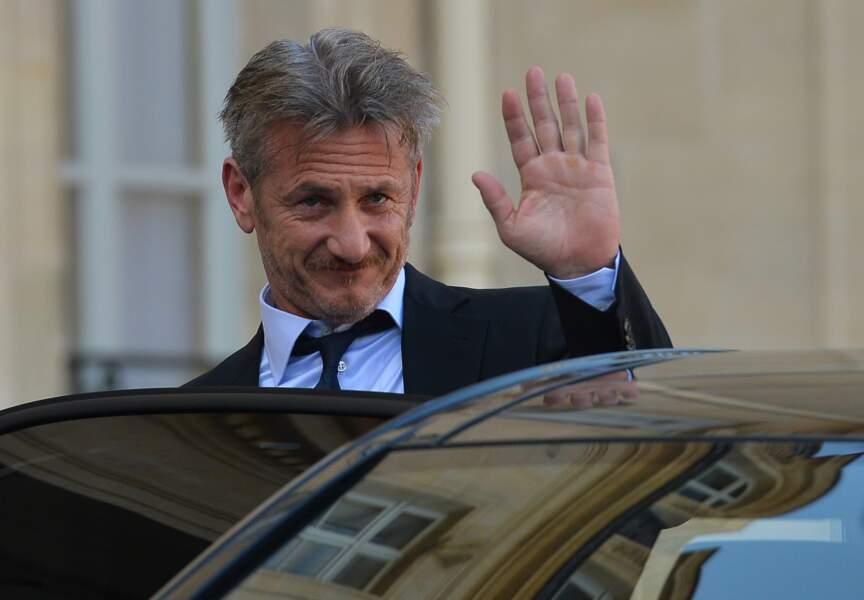 Sean Penn à l'Elysée