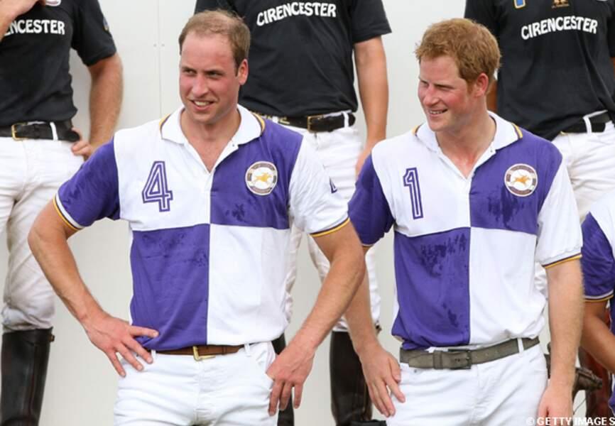 Le prince William était accompagné de son frère William