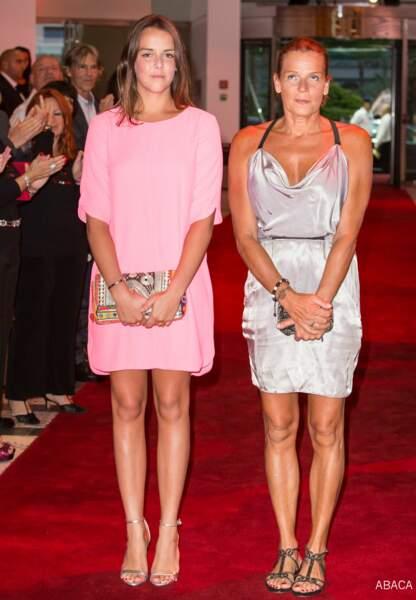 Stéphanie de Monaco, radieuse, au côté de sa fille Pauline Ducruet