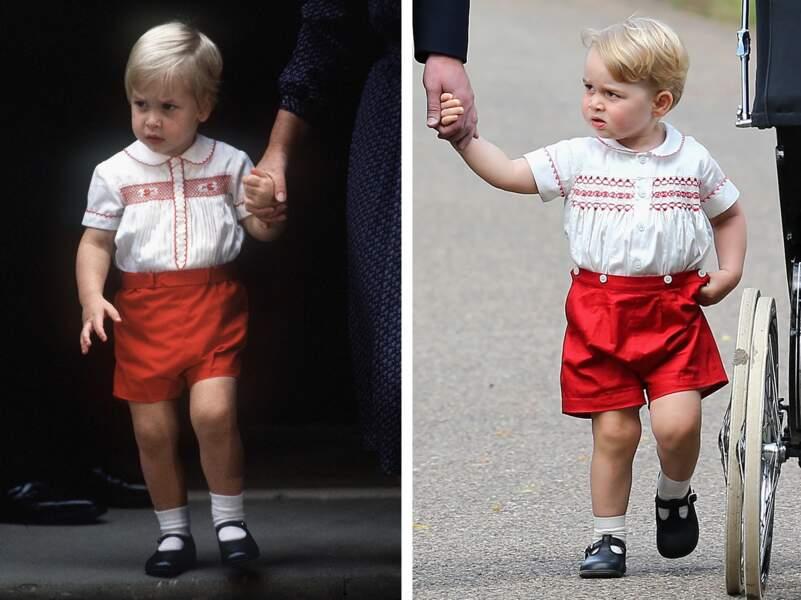 Si on craque tellement sur Baby George, c'est sans doute aussi pour sa ressemblance avec le prince William