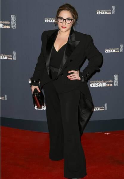 Marilou Berry a remis le prix pour le meilleur costume