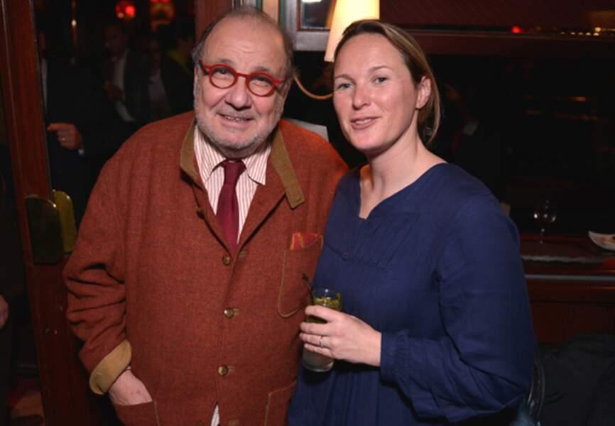 Serge Moati et son éditrice