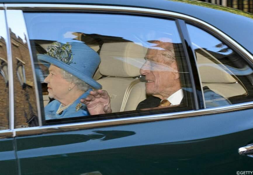 La reine Elizabeth II est arrivée à la dernière minute