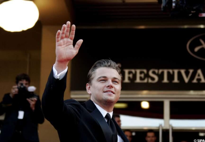 Leonardo DiCaprio vient présenter le documentaire qu'il a produit, La 11e heure