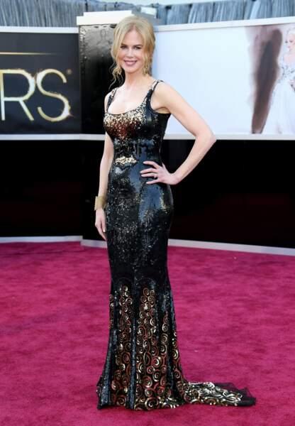 Nicole Kidman diva ostentatoire lors des Oscars 2013