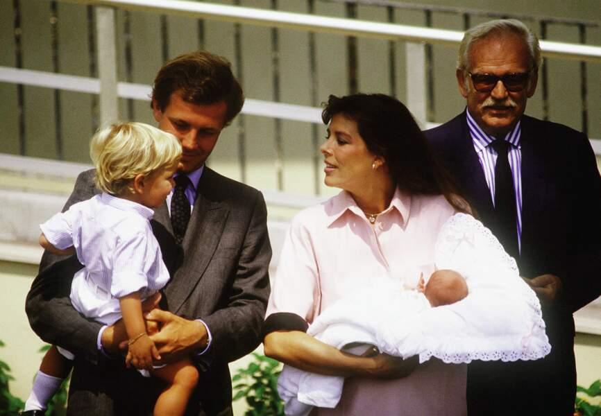 Charlotte à sa naissance, le 3 août 1986