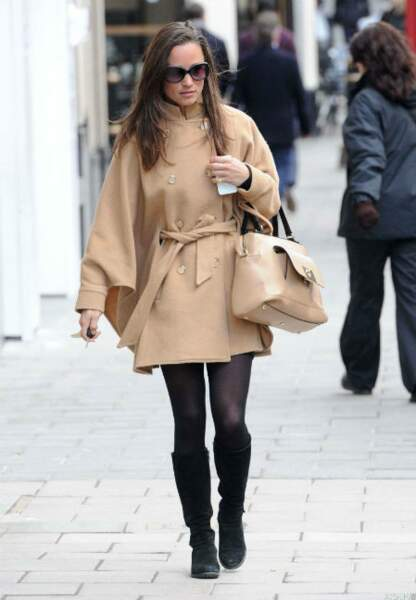 Pippa Middleton se promène incognito à Londres, le 12 mars