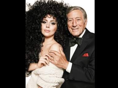 Lady Gaga et Tony Bennett fêtent Noël pour H&M