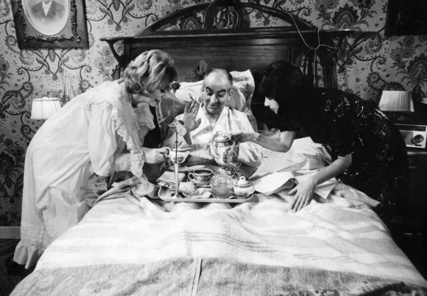 Les Bons Vivants de Gilles Grangier et Georges Lautner (1965). Avec Mireille Darc et Bernadette Lafont