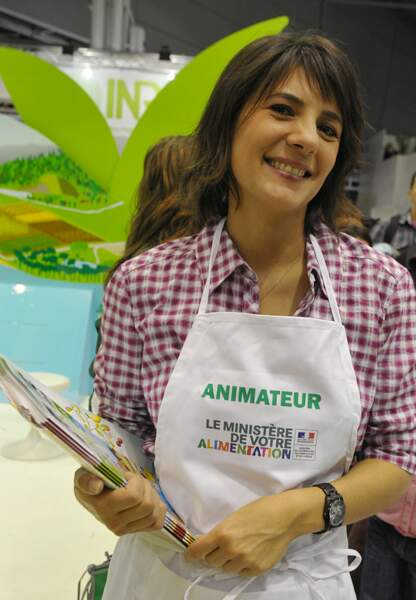 Estelle Denis au salon de l'Agriculture en 2010