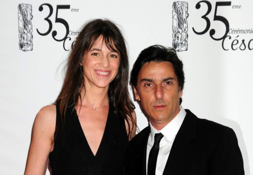 Charlotte Gainsbourg et son époux, Yvan Attal