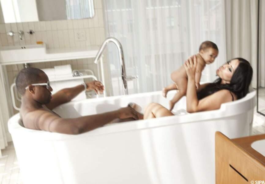 Juin: La famille Kardashian baigne dans le bonheur avec l'arrivée de North