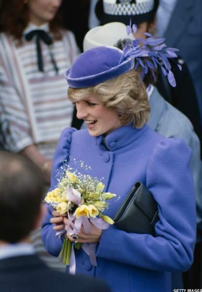 9 mars 1984 – elle est alors enceinte du prince Harry
