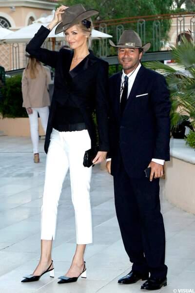 Adriana Karembeu et Bernard Montiel, y en a sous le chapeau