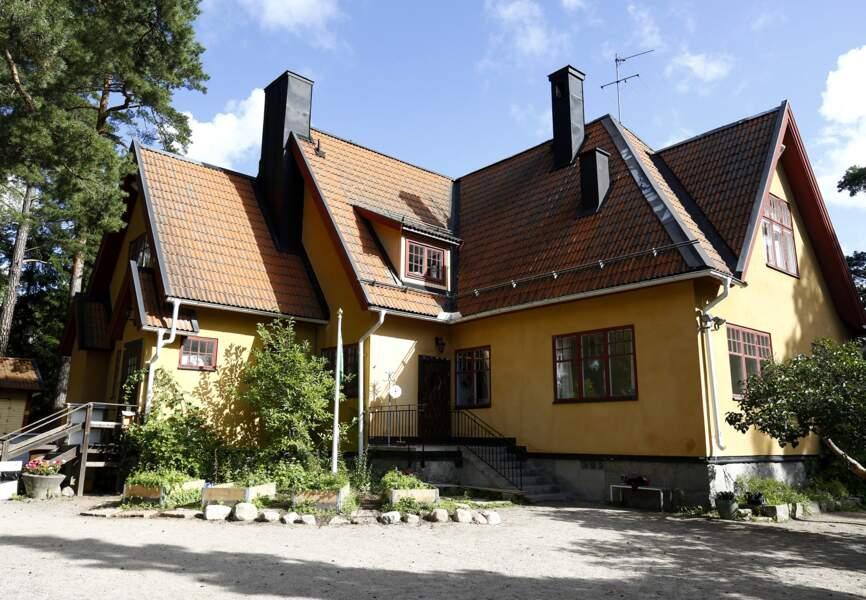 L'école maternelle de Danderyd en banlieue de Stockholm