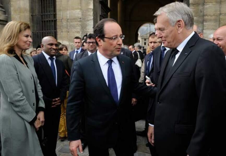 Jean-Marc Ayrault et François Hollande