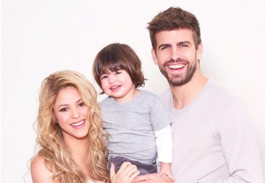 Sacha, le fils de Shakira et Gérard Piké a maintenant deux ans