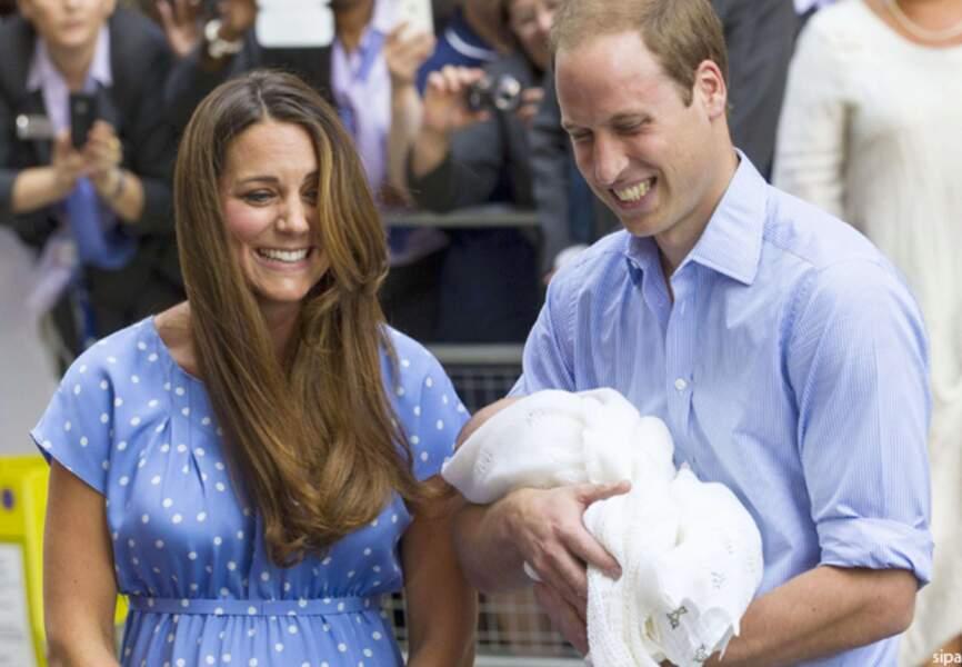 """""""Nous cherchons encore un prénom"""" a affirmé William"""