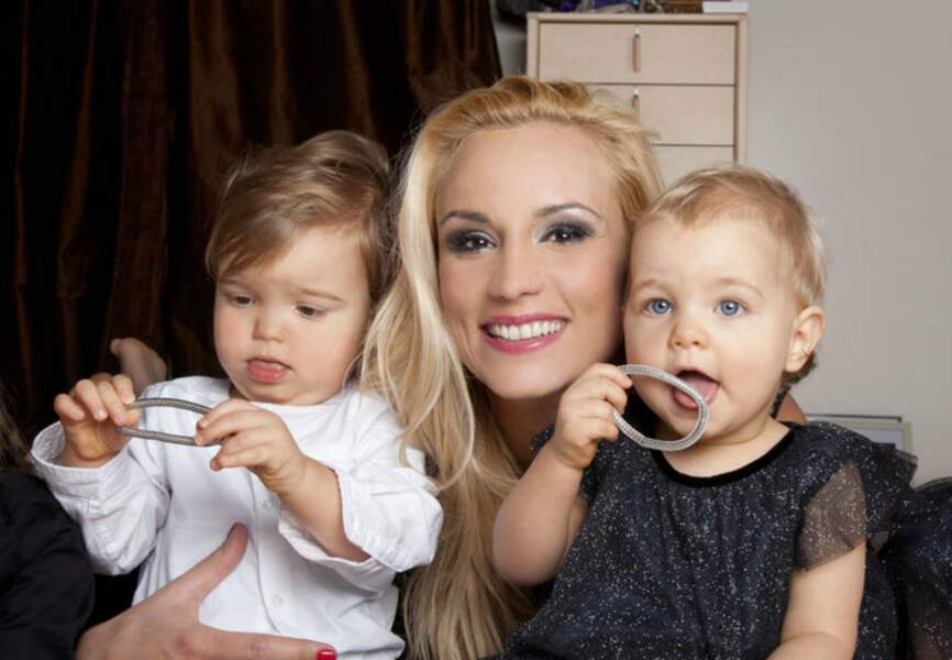 Fin 2013 Elodie Gossuin s'embarquait pour une vie à 6 avec la naissance de Léonard et Jospéhine