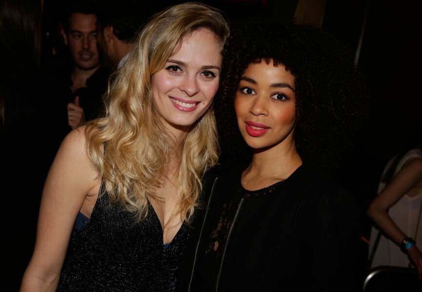 Alice Raucoules (Star Academy 8) et Aurélie Konaté (Star Academy 2)