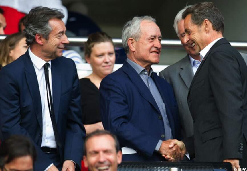 Michel Denisot, Jean Tibéri et Nicolas Sarkozy