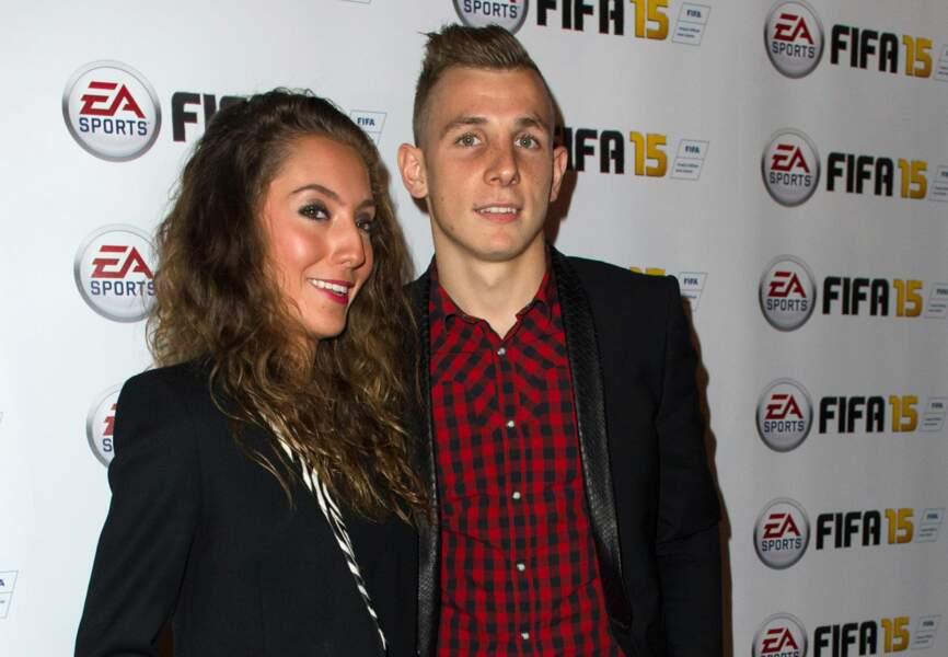 Lucas Digne et sa compagne Tiziri (PSG)