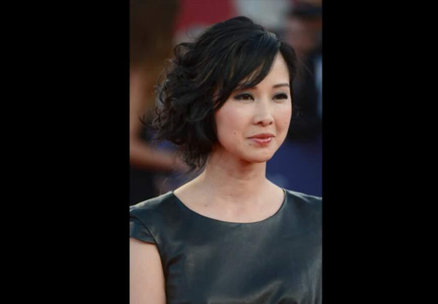 Linh-Dan Pham et son chignon romantique