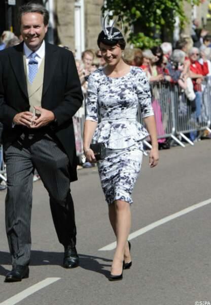Pippa Middleton au mariage de Melissa Percy et Thomas van Straubenzee, le 22 juin
