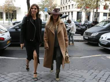 Rencontre au sommet entre Kim Kardashian et Carine Roitfeld à Paris