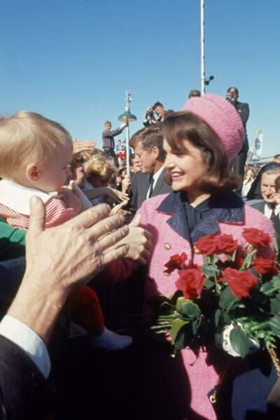 22 novembre 1963. John Kennedy est assassiné plus tard dans la journée.