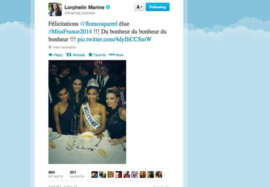 1ère photo de famille pour miss France 2014
