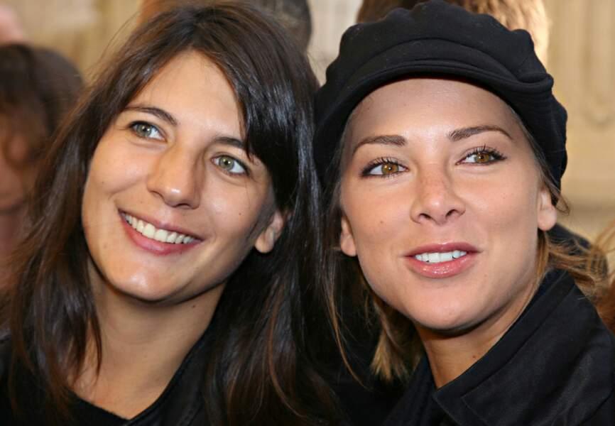 Estelle Denis et Mélissa Theuriau à la conférence de presse de Paris Première en 2007