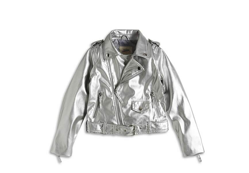 Une veste argentée pour l'hiver