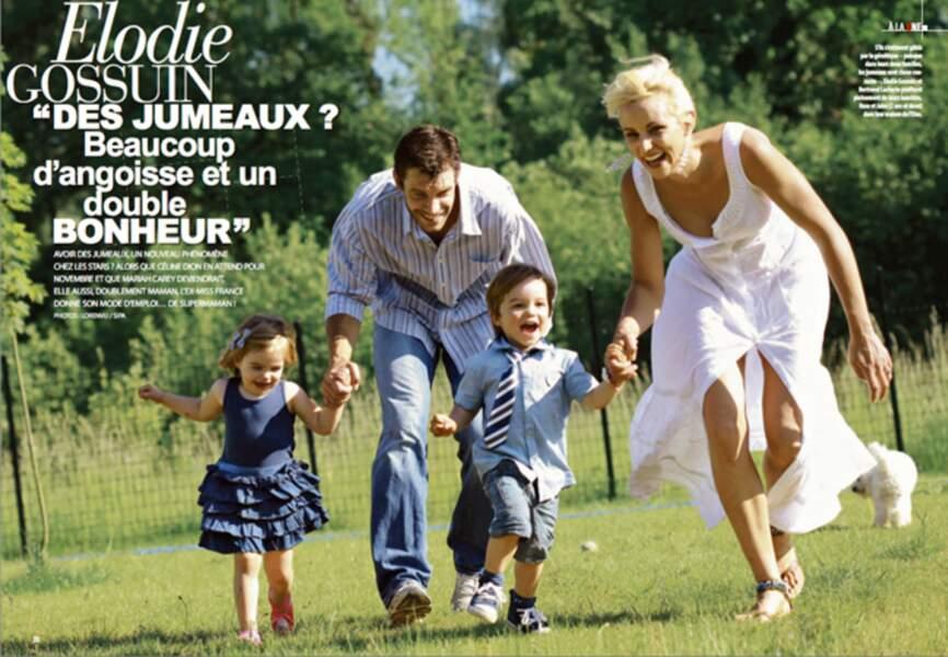 Une famille épanouie et heureuse